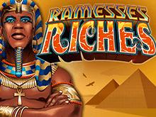 Автомат Богатство Рамзесса 777 в режиме онлайн