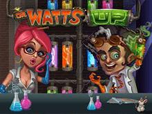 Как играть на реальные деньги в виртуальном аппарате Dr Watts Up