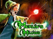 Играй и получай выигрыш в виртуальном слоте Merlins Millions
