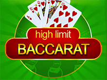 High Limit Baccarat онлайн